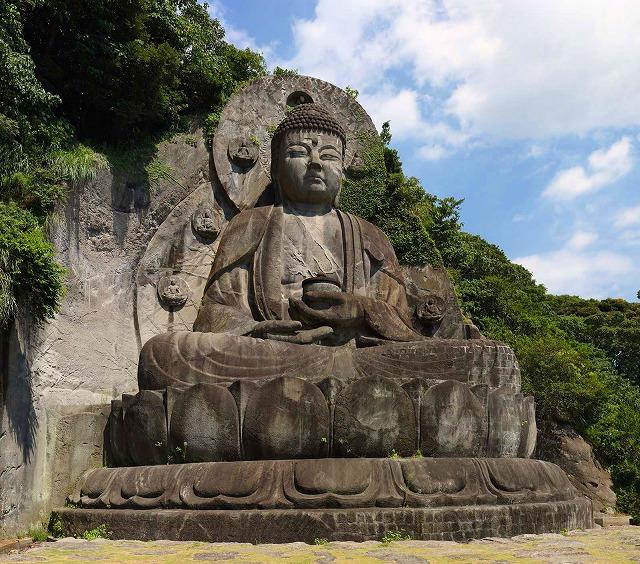 鋸山日本寺の大仏(薬師瑠璃光如来)