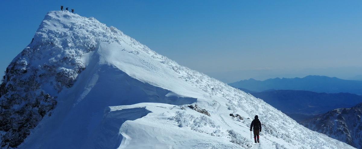 厳冬期 谷川岳