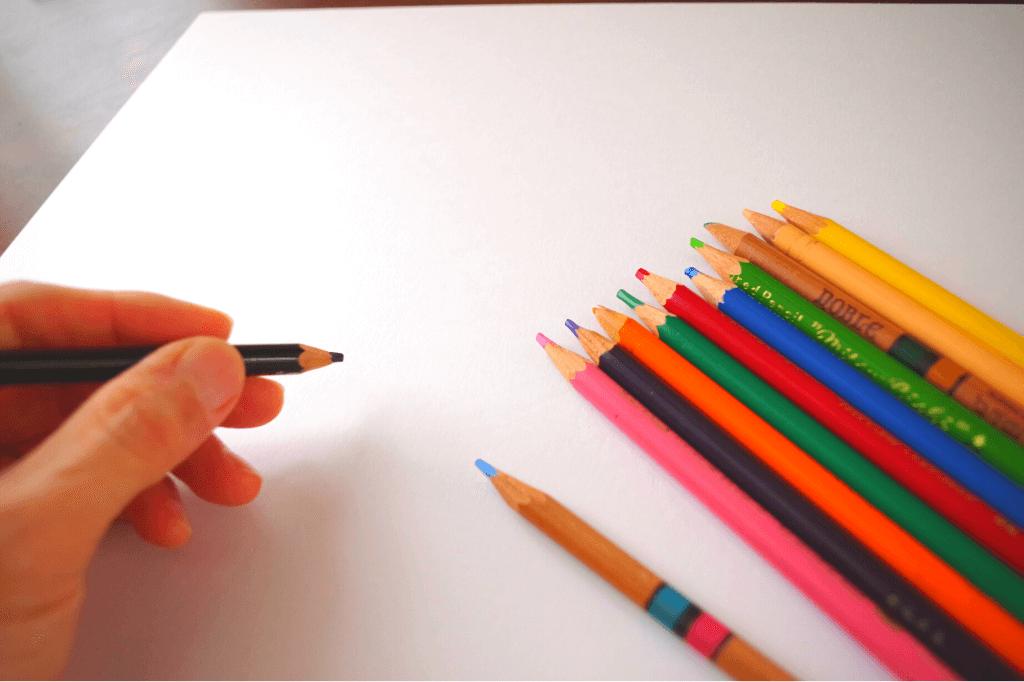 内なるビジョンワークショップ 色鉛筆