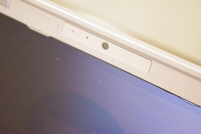 ノートパソコン内蔵のWebカメラ