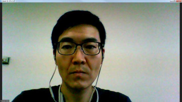 ノートパソコン内蔵Webカメラ